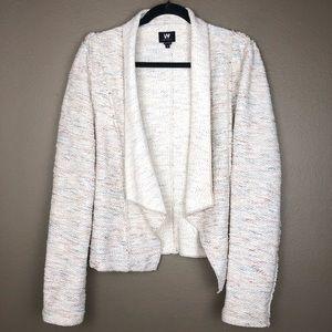 W BY WORTH | Tweed Cardigan Blazer Jacket 10